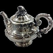 Beautiful Austrian 812 silver teapot