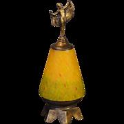 Edgy Art Deco Dancing Lady Novelty Lamp