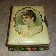 Circa 1890's Celluloid Photo Album with Working Music Box