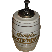 Early 1900's  Douglas Root Beer Soda Fountain Syrup Dispenser Circa 1915 era