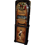 Mid 1930's Rowe Professionally Re-stored Ten Cent Cigarette Vending Machine ~ Art Deco Motif