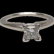 Ritani Platinum Diamond Ring