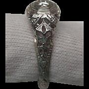 1925 18 Karat White Gold Diamond Engagement Ring