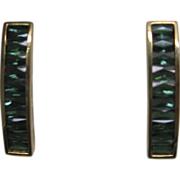 H. Stern Tourmaline Earrings in 18K Yellow Gold, in Original Box