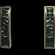H. Stern Tourmaline Earrings in 18K Yellow Gold, in Original Box