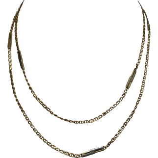 FRED Gold Link Chain