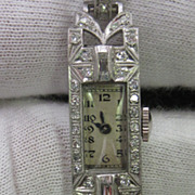 Art Deco 14K Gold Watch
