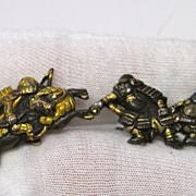 Victorian Japanese Samurai Cufflinks