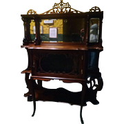 Victorian Walnut Etagere, What-Not, or Small Buffet