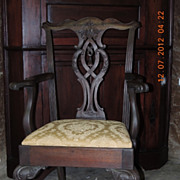 Antique Chippendale-Style Chairs