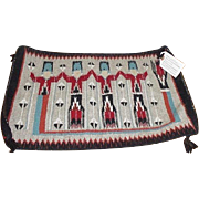 Navajo Yei Weaving Rug by Venora Watts 1960