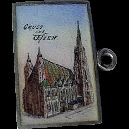 Item ID: Postcard Wien Charm In Shop Backroom