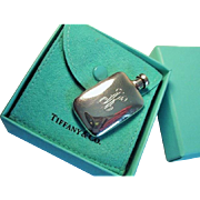 Vintage Tiffany & Co. Sterling Perfume Bottle, Boxed, Monogrammed with K - Red Tag Sale Item