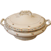 Antique Lidded Tureen, Serving Dish, John Maddock & Sons, English.