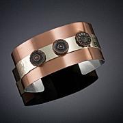 Anodized Aluminum Cuff Bracelets Wide