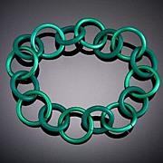 Anodized Aluminum O Ring Bracelets