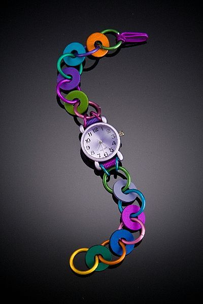 Anodized Aluminum Washer Watches