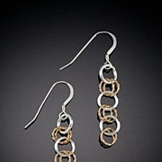 14 kt. Gold Filled and Sterling Earrings