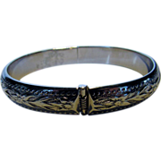 Whiting and Davis 7 Inch Bangle