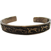Sterling Silver Bracelet With Mythical Creatures