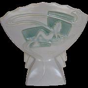 Roseville Silhouette Nude White Mid Century Modern Vase