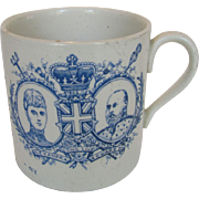 1902 Edward VII and Queen Alexandra Coronation Cup Presented by the Mayor of Southampton - Red Tag Sale Item