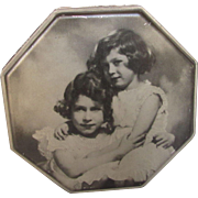 Princess Elizabeth and Princess Margaret Rose Tin from 1940's