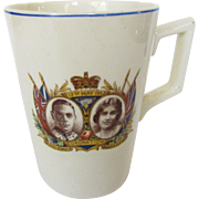 George VI and Queen Elizabeth 1937 Coronation Mug
