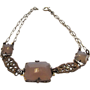 Sterling Silver Purple Jadite Bracelet