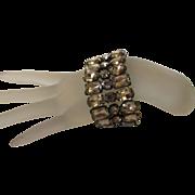 Vintage Statement Crystal Bracelet