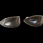 Sterling Silver Blue Topaz Pierced Earrings