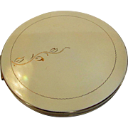 Vintage Powder Compact  by Rex of 5th Avenue Complete