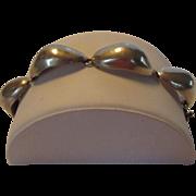 Sterling Silver Segment Bracelet