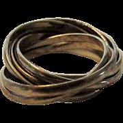 Sterling Silver Multi Strand Ring