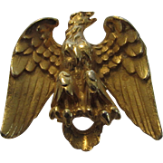 Van's Authentic Signed and Numbered Golden Eagle Pin