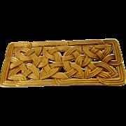Vintage Designer Classic Styled Goldtone Pin