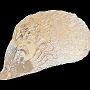 Daum France Glass Hedgehog Crystal Figurine