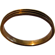 10 Karat Yellow Gold Tiny Child's Ring
