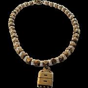 Lisa Jenks Sterling Silver Freshwater Pearls With Unusual Locket