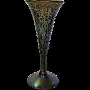 Gorgeous Signed Carl Radke Phoenix Studios 1983 Aurene Vase