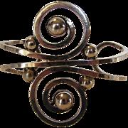 Sterling Silver Mexican Open Work Bracelet