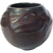 Van Briggle Early Maroon Vase