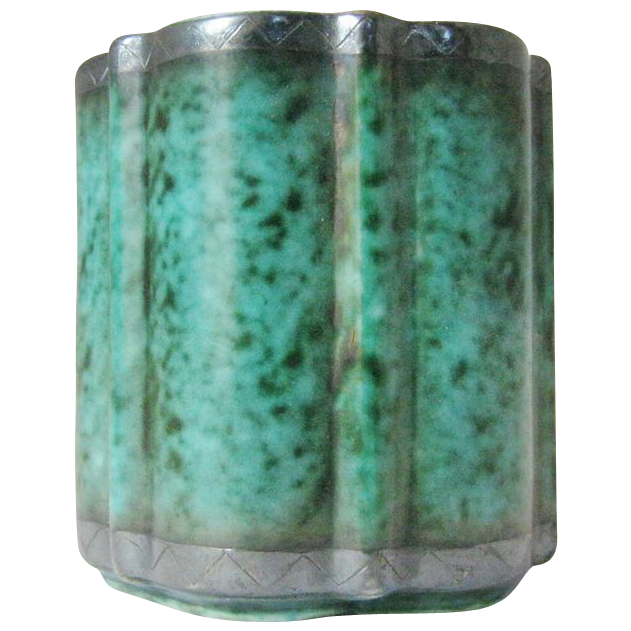 Gustavberg Argenta Cabinet Vase