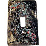 """Marc Bellaire """"Mardis Gras"""" Switch Plate Cover"""