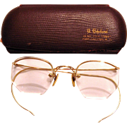 Ladies 12K Gold Filled Eye Glasses
