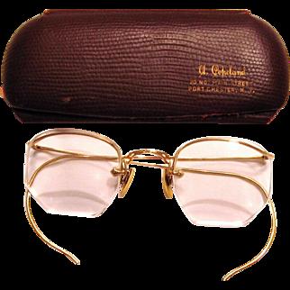 Ladies 12K Gold Filled Eye Glasses