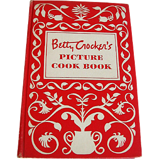Betty Crocker's Picture Cook Book 1950 1st Edition 7th Printing