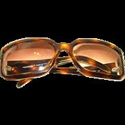 Vintage Chanel Crystal Logo Sunglasses