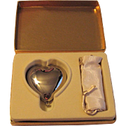 Vintage Estee Lauder Heart Shaped Compact