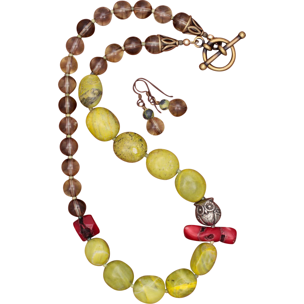 the owl in your backyard necklace from sundancegems on ruby lane